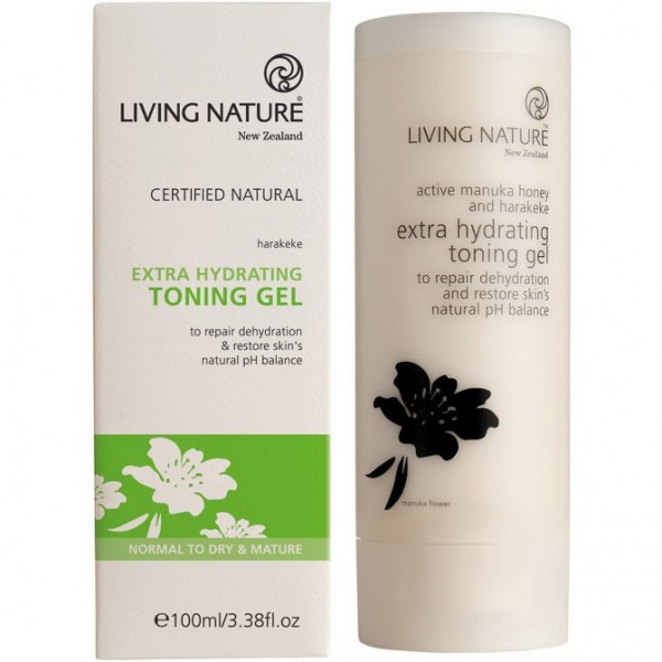 Living Nature Extra Feuchtigkeit Toning Gel 100ml Hydrating