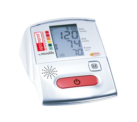 Wepa Aponorm Voice Oberarm Blutdruckmessgerät Sprachausgabe