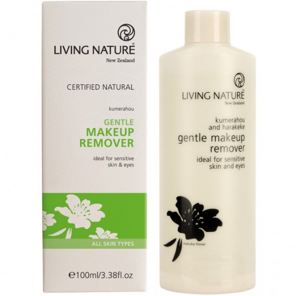 Living Nature Sanfter Make Up Entferner 100ml Makeup Remover