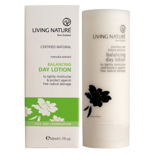 Living Nature Ausgleichende Tageslotion Balancing Day Lotion 50ml
