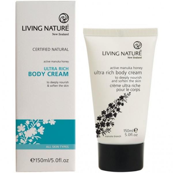 Living Nature Ultra Reichhaltige Körpercreme 150ml Rich Body Cream