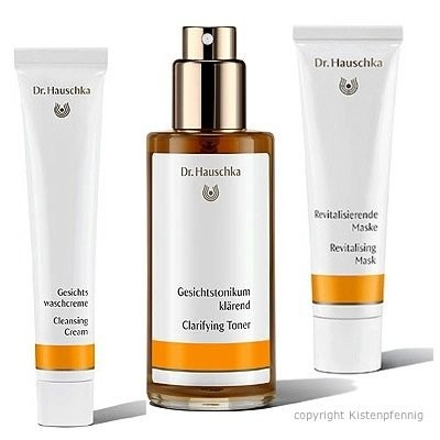dr hauschka 3in1 set gesichtswaschcreme 50ml tonikum kl rend 100ml revitalmaske 30 ml. Black Bedroom Furniture Sets. Home Design Ideas