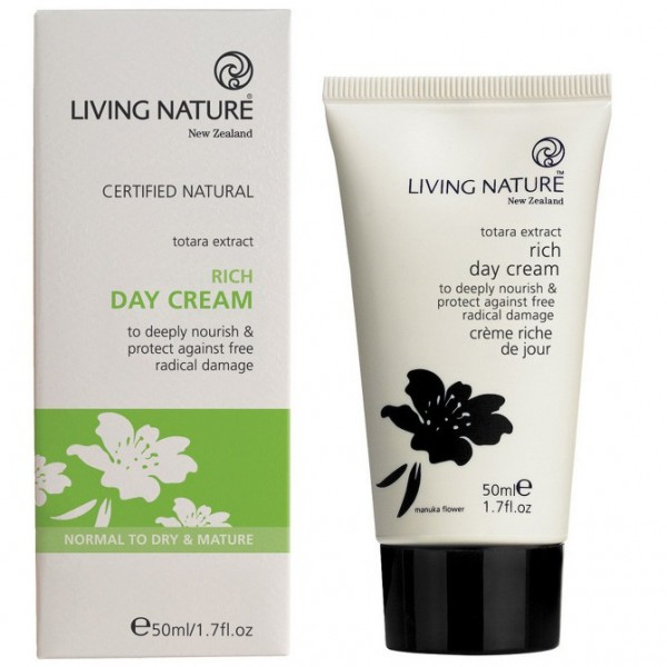 Living Nature Reichhaltige Tagescreme Rich Day Cream 50ml