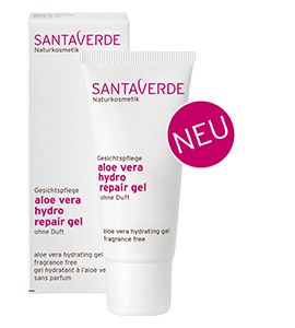 Santaverde Aloe Vera Hydro Repair Gel 30 ml ohne Duft