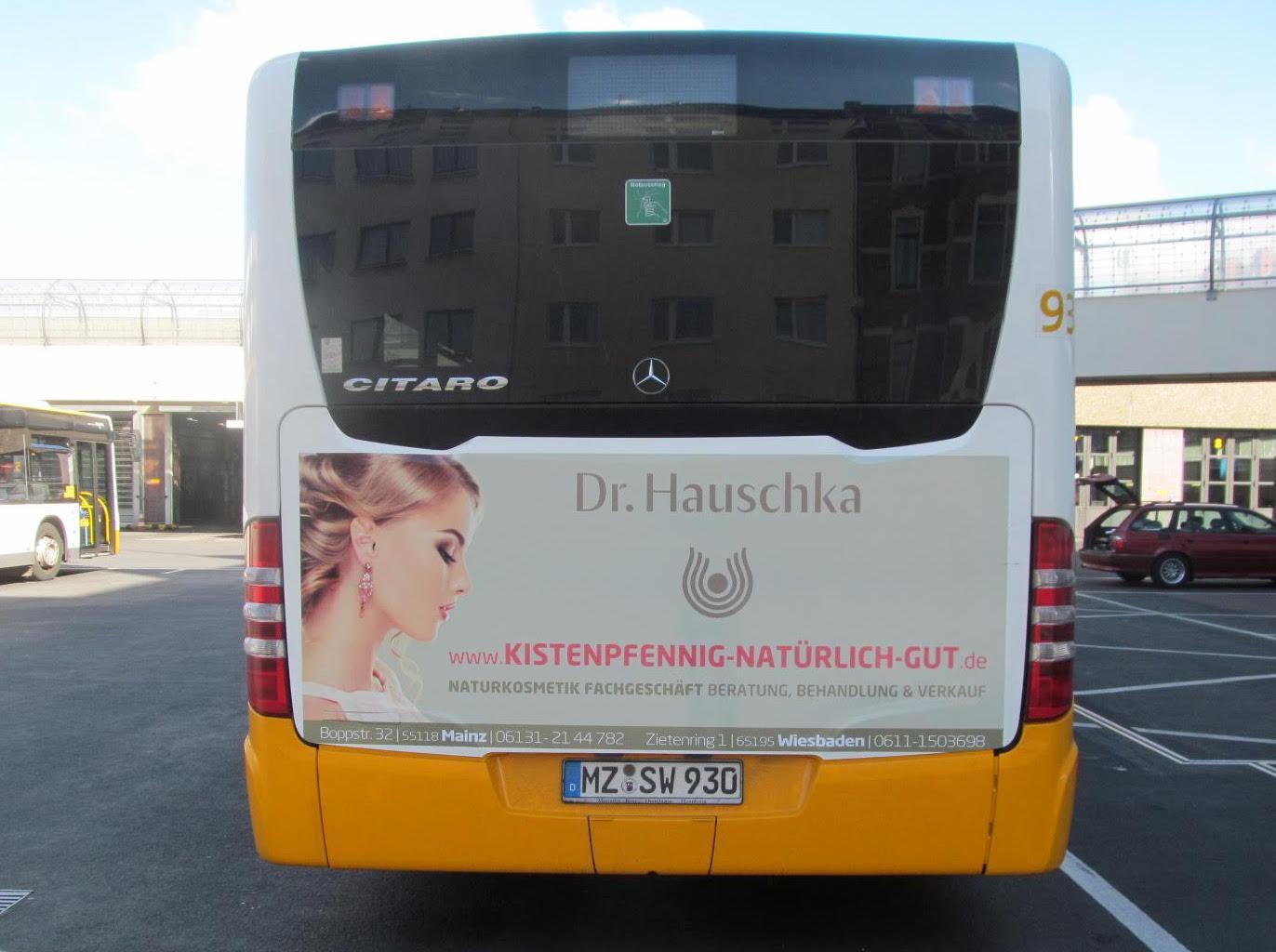 Buswerbung