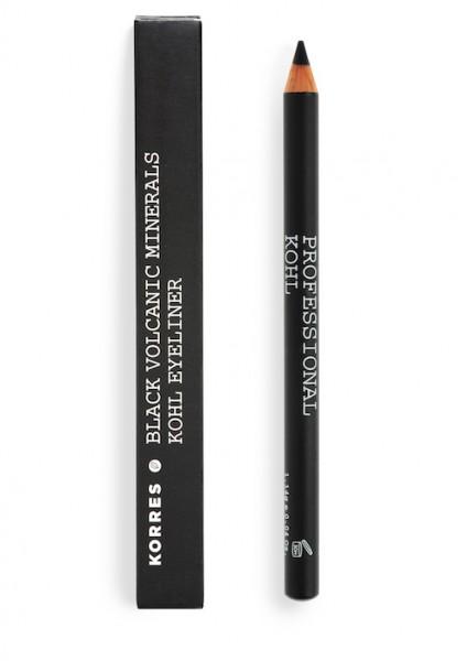 Korres Black Volcanic Minerals Kohl Eyeliner black 1,2 g Dekorative