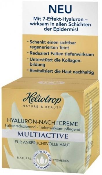 Heliotrop MULTIACTIVE Hyaluron Nachtcreme