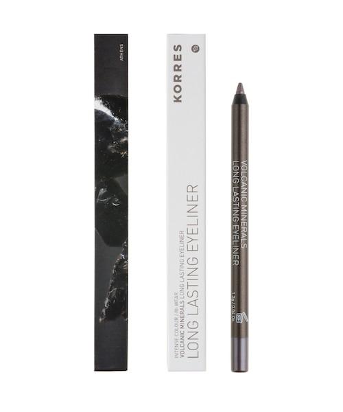 Korres Black Volcanic Minerals Eyeliner 03Long lasting Eyeliner metallic brown 1