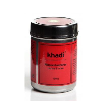 Khadi Pflanzenhaarfarbe Henna Und Amla 150 G
