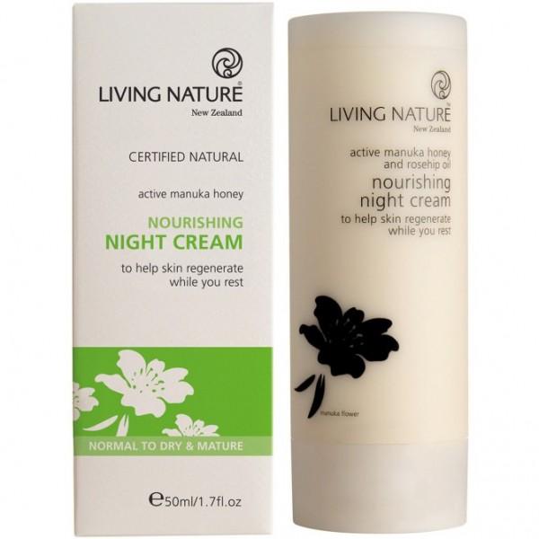 Living Nature Nährende Nachtcreme 50ml Nourishing Night Cream