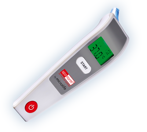 Aponorm Ohr Thermometer Comfort 3 by Microlife