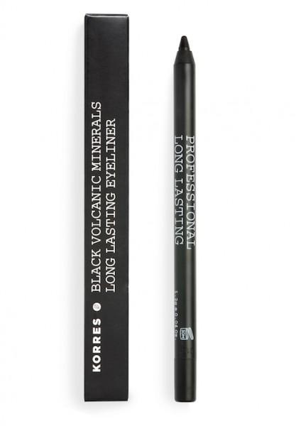 Korres Black Volcanic Minerals Long Lasting Eyeliner black 1,2 g Dekorative