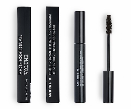 Korres Black Volcanic Minerals Mascara 02Brown  8 ml Dekorative