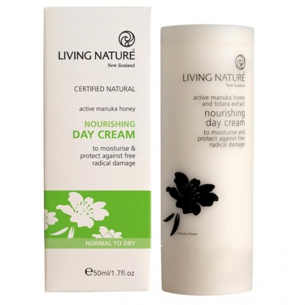 Living Nature Nährende Tagescreme Nourishing Day Cream 50ml