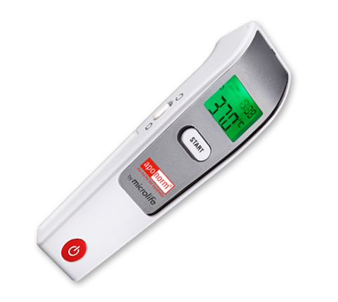 Aponorm Stirn Thermometer Contact Free 3