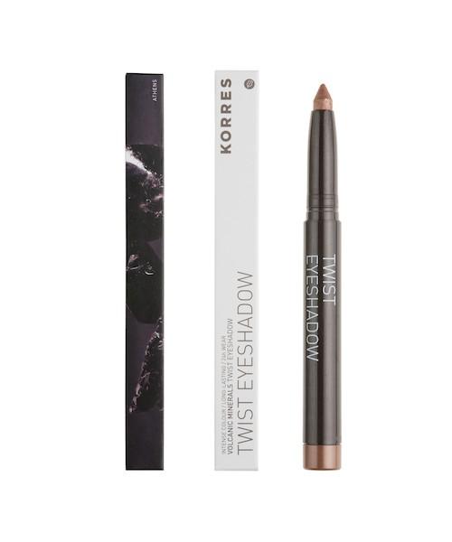 Korres Black Volcanic Minerals Twist Eyeshadow Stick 29 Golden bronze 1,4 g Deko