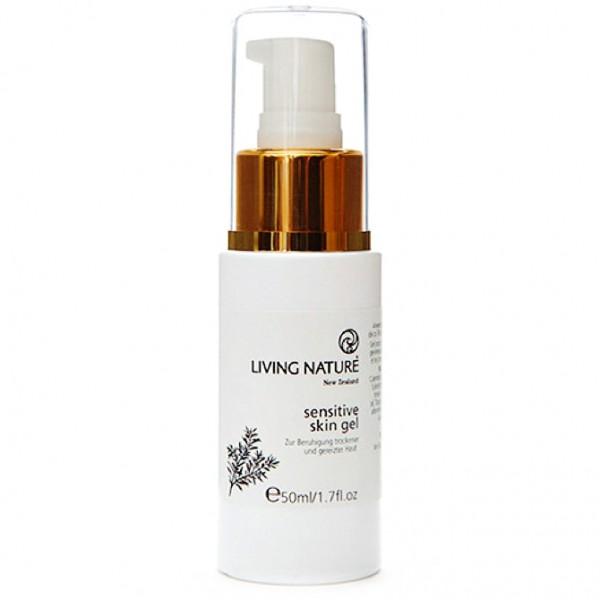 Living Nature Sensitive Skin Gel Pflegegel 50ml für sensible Haut