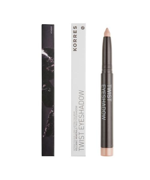 Korres Black Volcanic Minerals Twist Eyeshadow Stick 11 Ivory 1,4 g Dekorative