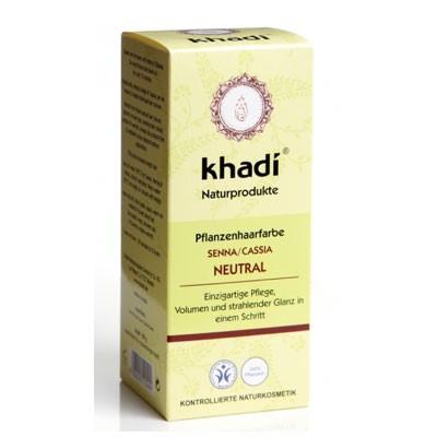 Khadi Pflanzenhaarfarbe Senna/Cassia Neutral 100Gramm